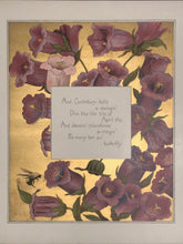Scarce - ROSE TERRY COOKE - THE OLD GARDEN 1st/1st 1888 Floral Chromolithographs