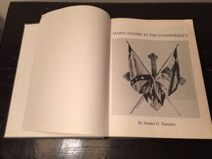 MARYLANDERS IN THE CONFEDERACY by Daniel Hartzler - 1st Edition 1986, CIVIL WAR