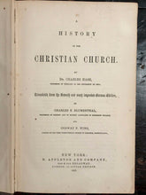 HISTORY OF THE CHRISTIAN CHURCH - Hase, 1st Ed, 1855 - ANCIENT TO CONTEMPORARY