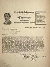 PRACTICAL LESSONS IN HYPNOTISM AND MAGNETISM - L.W. de Laurence - HYPNOSIS MAGIC