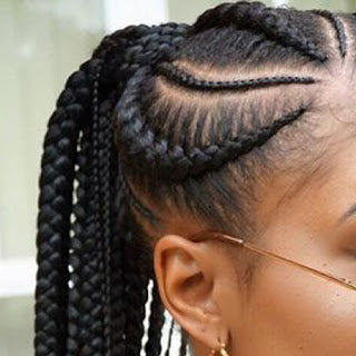 Different Stylish Black Braids