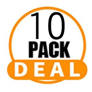 Synthetic Braids - 10 Pack Deals