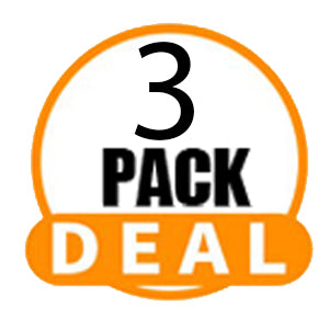 Synthetic Braids - 3 Pack Deals