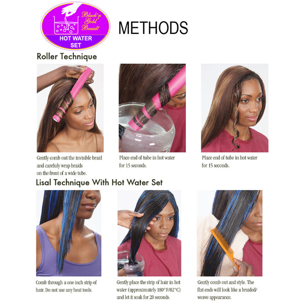 10 Pack Value Deal - Premium Soft Braids 3oz. braiding hair