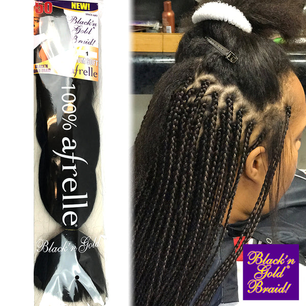 5 Pack Value Deal - Premium Soft Braids 3oz. braiding hair