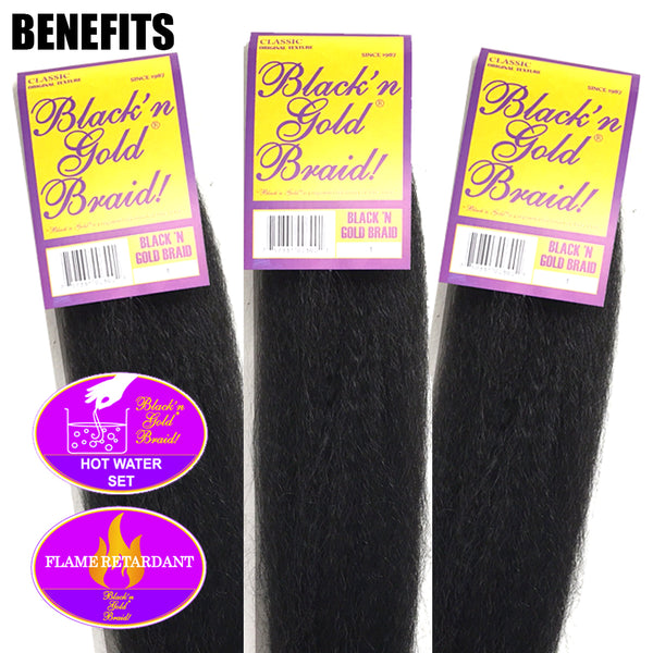 Classic Braids 2oz. Kanekalon Synthetic Jumbo Braiding Hair