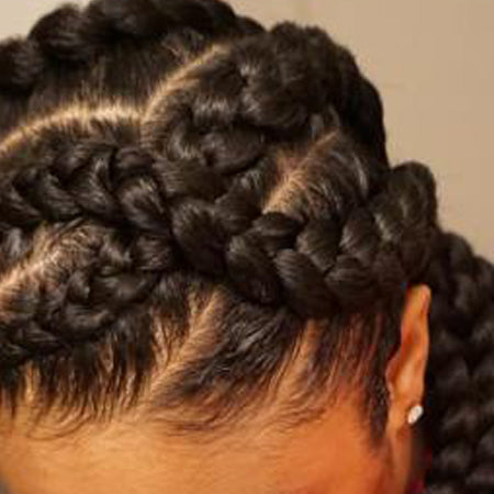 10 Pack Value Deal - Classic Braids 2oz. Kanekalon Synthetic Jumbo Braiding Hair