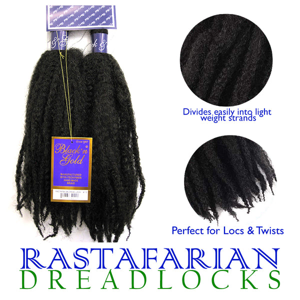 Rastafarian Dreadlock Crochet Braiding hair for Twists