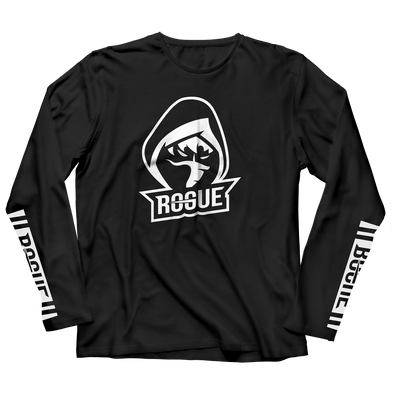 Logo Longsleeve - Black - Rogue Official Shop