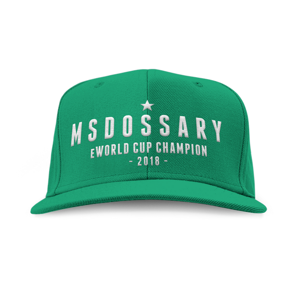 Msdossary eWorld Cup Champion Snapback - Rogue Official Shop