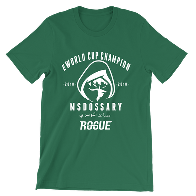 Msdossary eWorld Cup Champion Tee - Rogue Official Shop