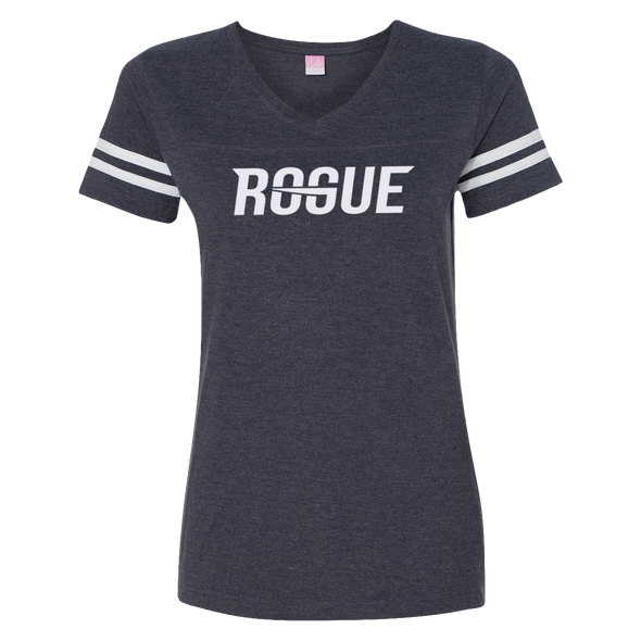 Rogue Womens Football Tee - Navy - Rogue Official Shop