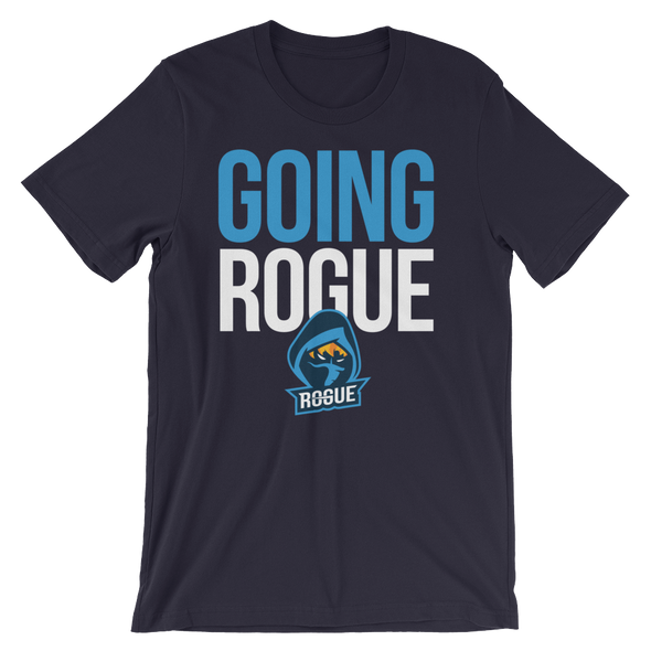 Going Rogue T-Shirt - Navy - Rogue Official Shop
