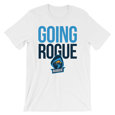 Going Rogue T-Shirt - White - Rogue Official Shop