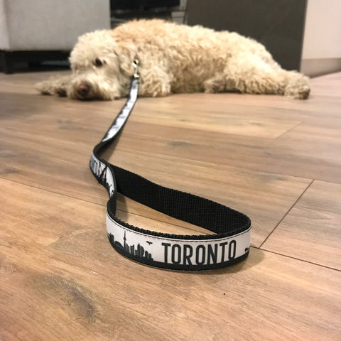 THE TORONTO LEASH - SILVER HARDWARE
