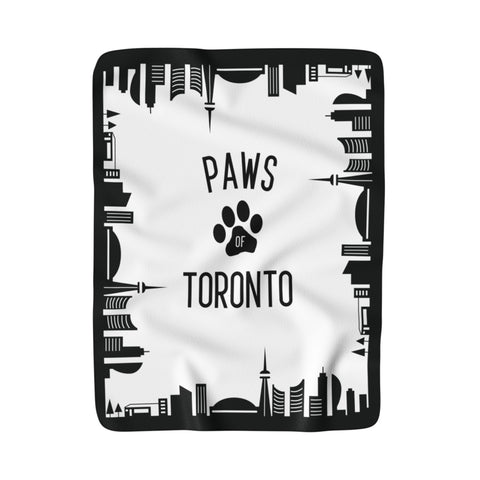 Paws of Toronto Blanket