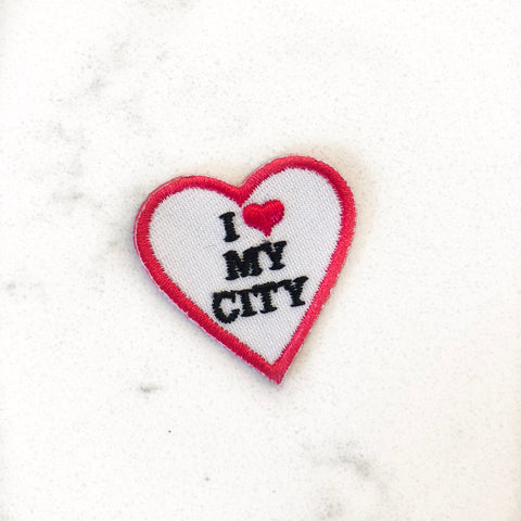 I ❤️ My City Patch