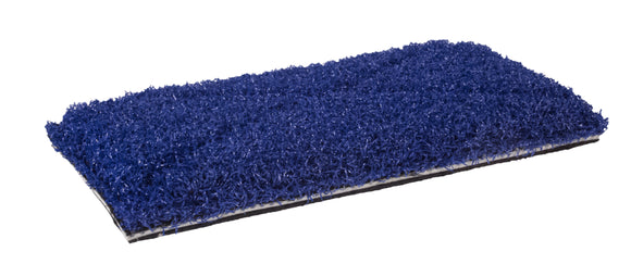 4.75x10 Blue Tile & Grout Pad - Sold Individually - Square Scrub SS P0511TGBV