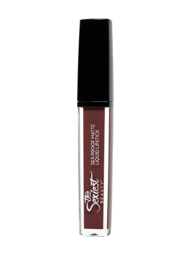 MATTESHEEN | S-Proof Liquid Lipstick | in HAUTE CHOCOLAT