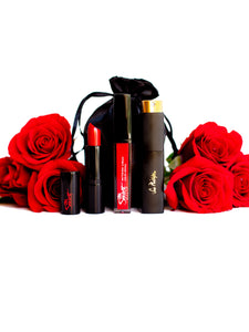 ROSES ARE RED | Perfume & Lipstick Escentials