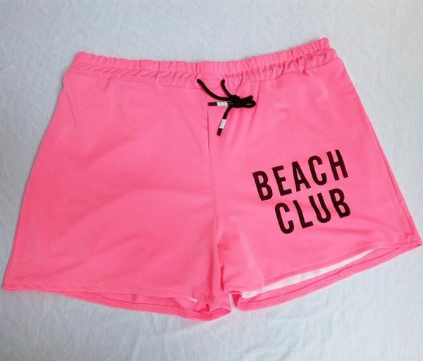 Beach club Couple matching family swimsuit bikini shorts  set