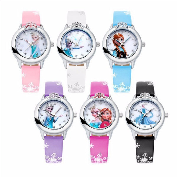 Adorable Kids Frozen custom watch gift for kids (4357143298131)
