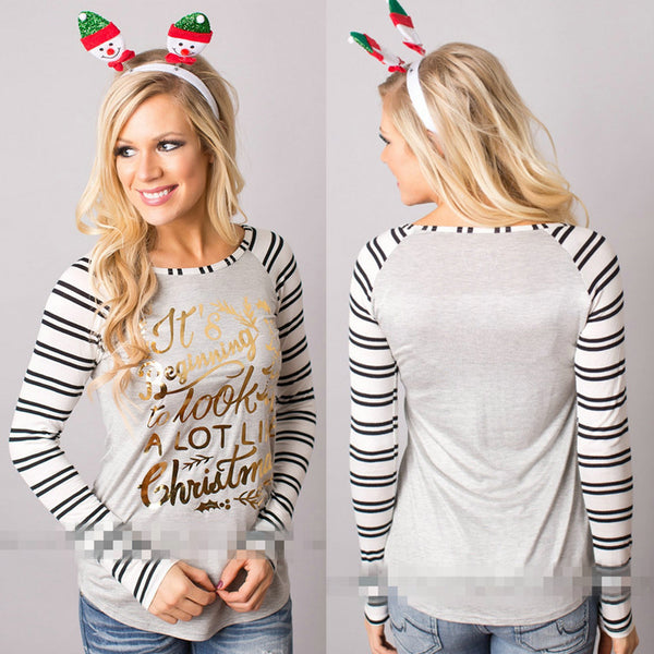 Merry Christmas tshirt have yourself a merry Christmas long sleeve raglan top (4352288751699)