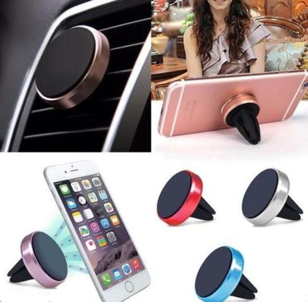 Magnetic cell phone holder car dock mobile stand (1462465953835)