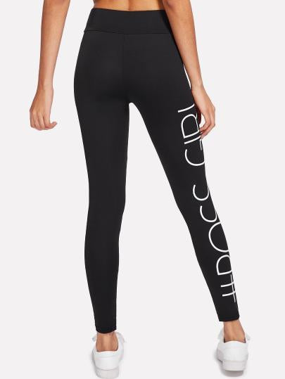 # Boss girl fashion leggings (1462465560619)