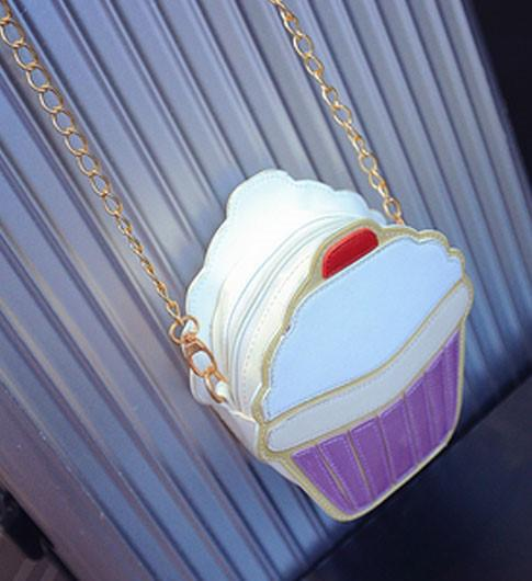 3D cupcake Handbag - Iconic Trendz Boutique (1462580510763)
