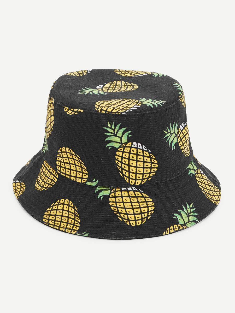 Pineapple bucket hat (1462456418347)