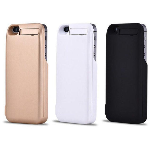 Power bank iPhone 5 5s 5se portable charger phone case (1462452715563)
