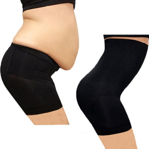 Seamless High waist slimming tummy body shaper undergarment pants (1462481059883)