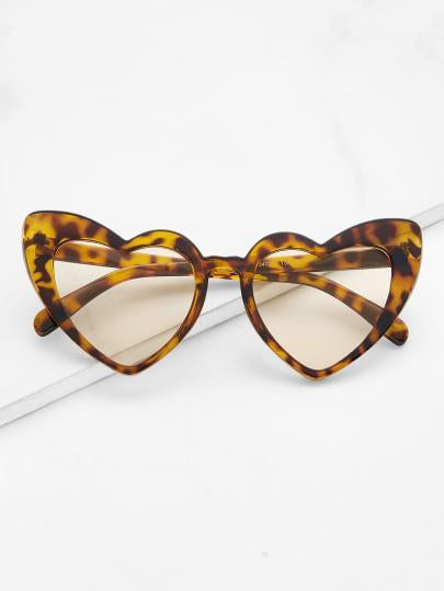 Retro old school heart frame sunglasses (1462471262251)