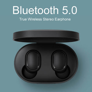 Luxe Wireless voice control headphones Bluetooth Earphones Noise reduction Tap Control (4357844303955)