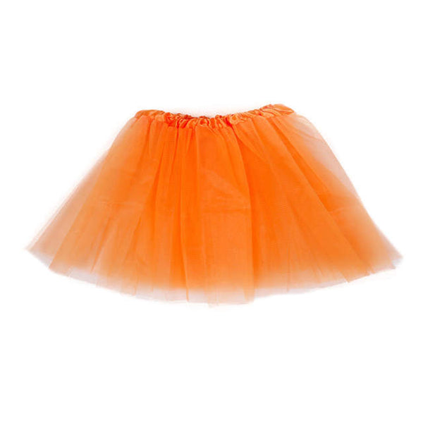 Ladies tutu tulle mini petticoat skirt (4111430221867)