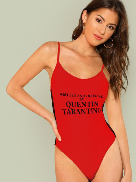 ladies written and directed by Quentin Tarantino bodysuit top (1462456549419)