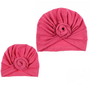 Mommy and me matching knot turban head wrap hat (1462479519787)