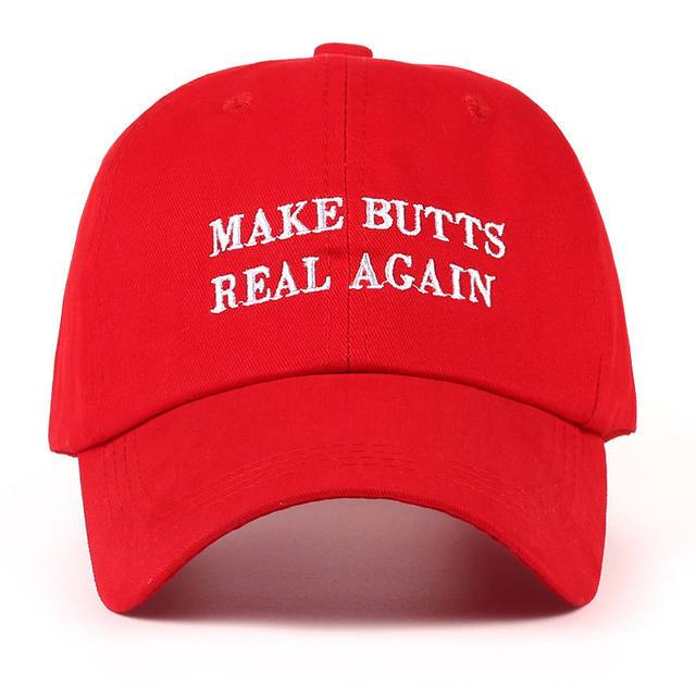 Make butts real again funny dad hat (1462497181739)