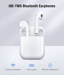 Bluetooth Headphone AirPod Wireless Bluetooth earphones Headset For Smart Phone (4357841027155)
