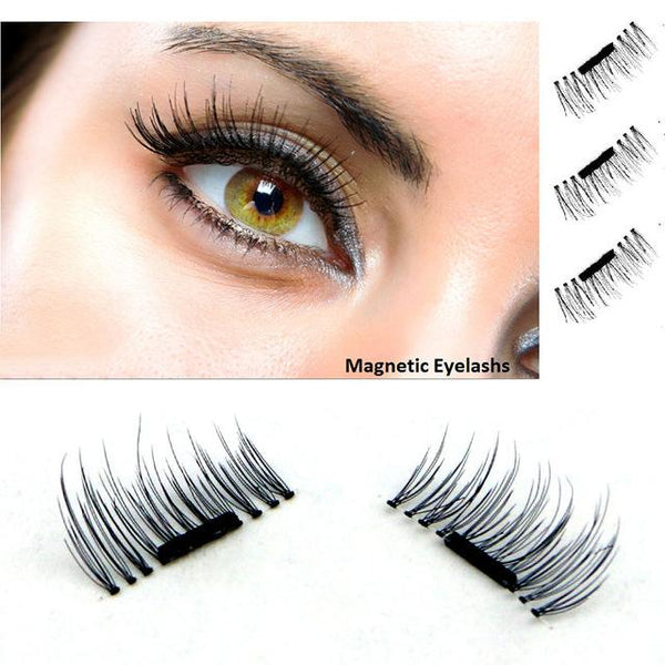 Iconic Beauty 4pcs natural look magnetic false eyelashes extensions (1462527655979)