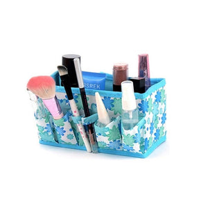 Easy Multifunctional Folding Makeup Organizer Storage bag Box (4357156274259)