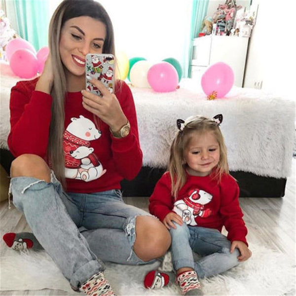 Family matching Christmas sweater ugly Xmas sweatshirt (4357132976211)