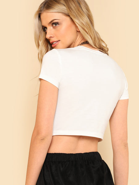 Girls supporting girls crop top (1462476308523)