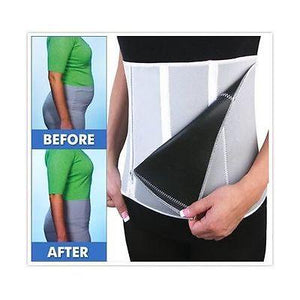 """Iconic fitness"" Adjustable belly fat slimming fitness waist shaper belt (1462525755435)"