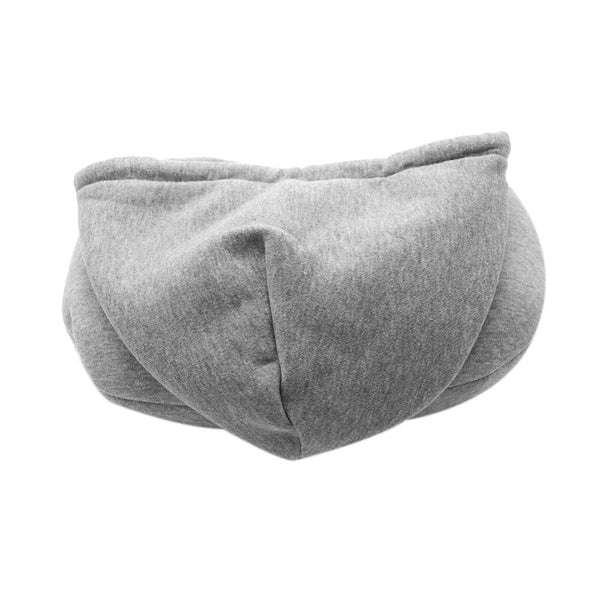Cool Hooded Neck Pillow Cotton Travel Comfy Sleep hoodie Pillow