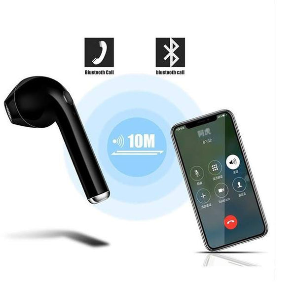 Black Friday sale Mini wireless Earphone Stereo Earbud Headset Headphones For Iphone android All Smart Phone (4357854625875)