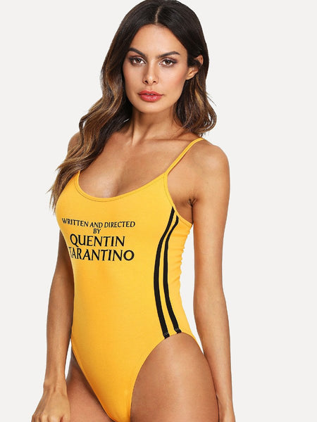 Written and directed by Quentin Tarantino bodysuit top (1462459727915)