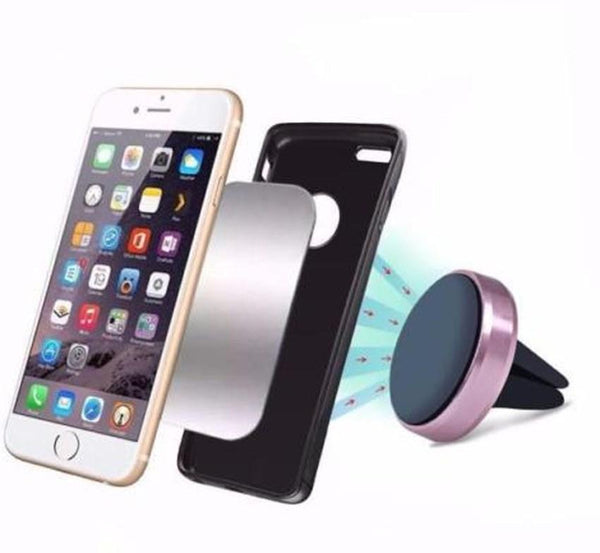 Magnetic cell phone holder car dock mobile stand