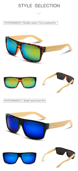 Tropical Bamboo Sunglasses